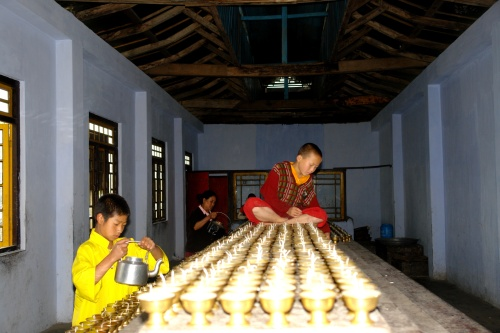 Preparation for prayers