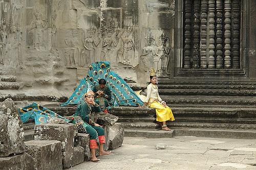 The apsaras of Angkor