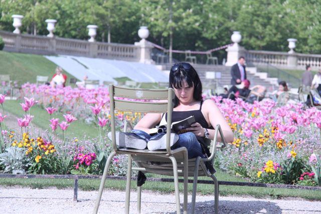 The parks of Paris