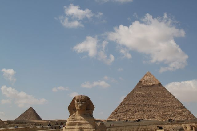 Now I know why they are called the Great Pyramids