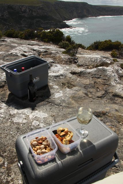 Clifftop lunch
