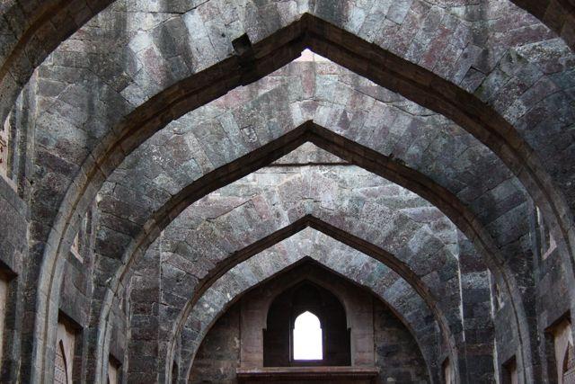 Arches at Hindola Mahal