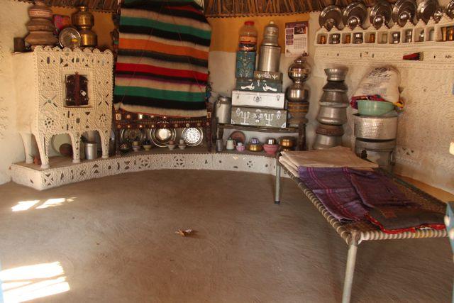 Inside a bhunga