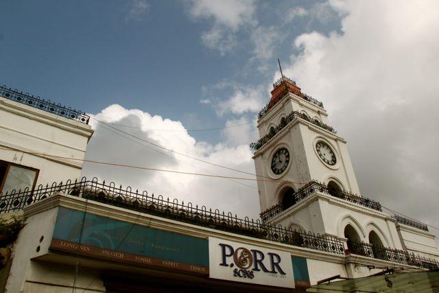 Clock at P Orr