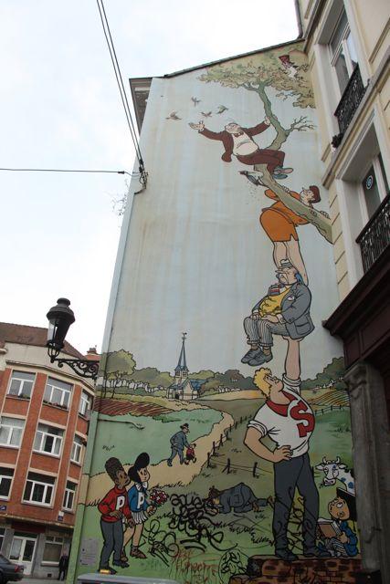 Comics city Brussels