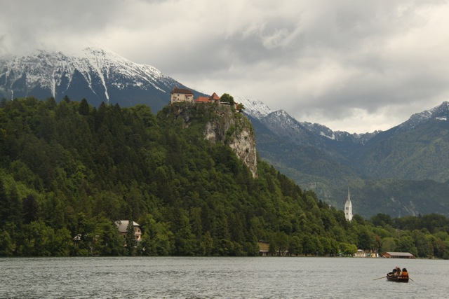 The Bled castle