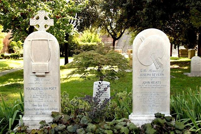 Keat's tomb