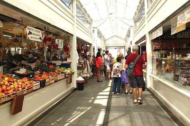 Testaccio fresh food market