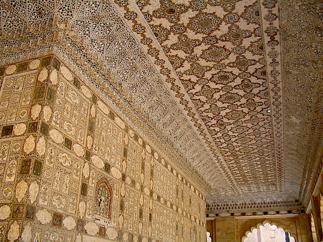 Walls and ceiling