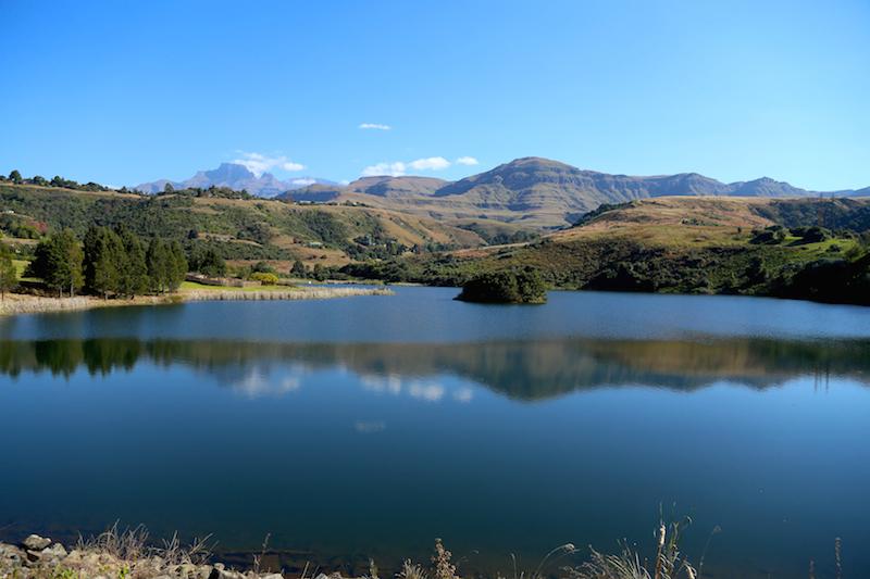 Lake at Drakensberg