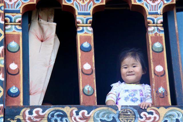 Bhutanese kid