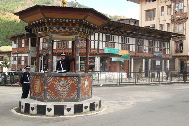 Thimpu traffic