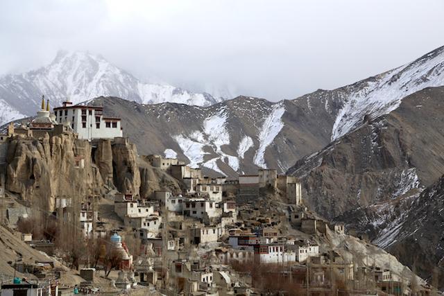 To Ladakh by air
