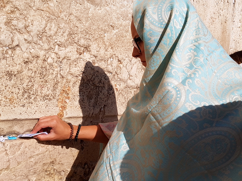 The Western Wall of Jerusalem: a photoessay