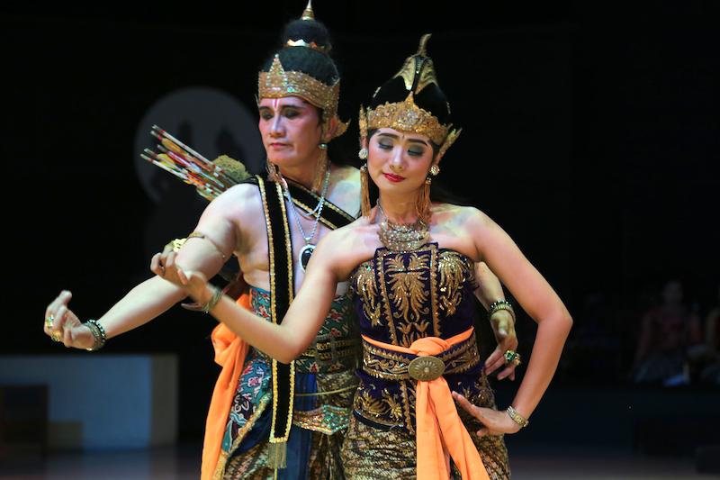 Watching the Ramayana in Indonesia