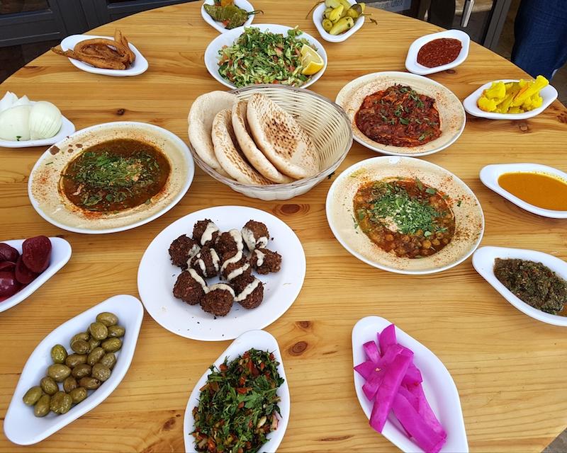 A vegetarian food pilgrimage in Israel