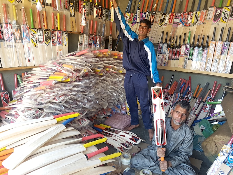 Where our cricket bats come from