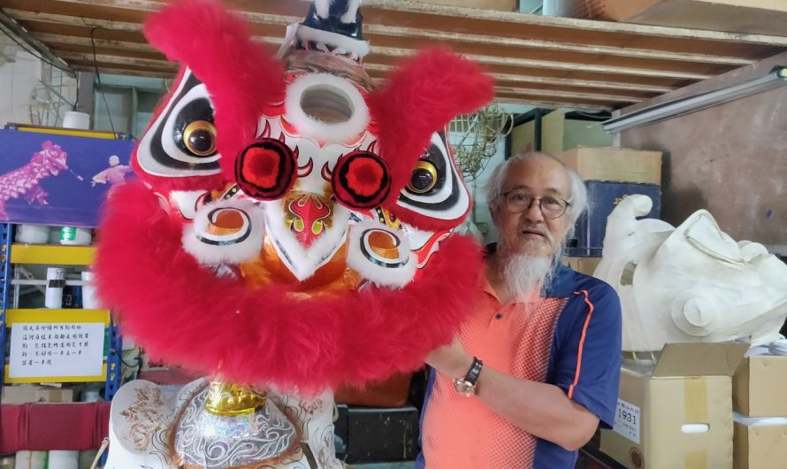 The mask maker of Malaysia