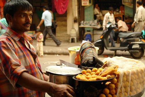 Sin and the city: street snacks inoldDelhi